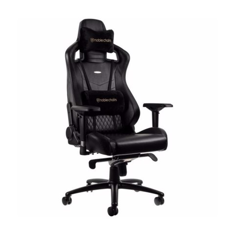 Ghế Noblechairs EPIC Series Black (Real Leather)