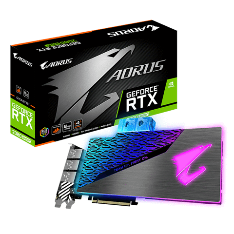 AORUS GeForce® RTX 2080 SUPER™ WATERFORCE WB 8G