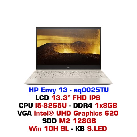 Laptop HP Envy 13 - aq0025TU (6ZF33PA)