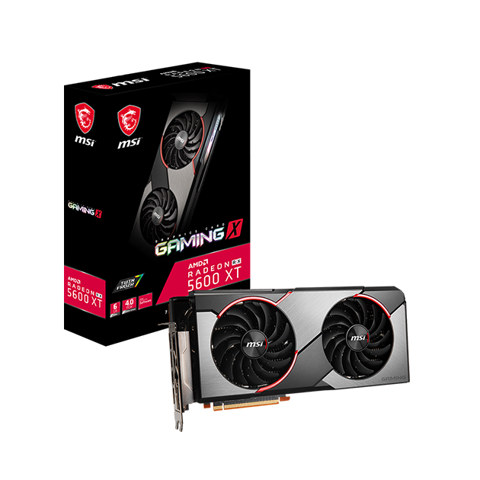 MSI AMD Radeon™ RX 5600 XT Gaming X 6G