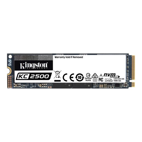 Ổ cứng SSD Kingston KC2500 2TB PCIe Gen 3.0