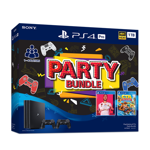 Máy chơi game Sony Playstation 4 Pro 1TB Party Bundle