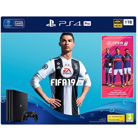 Sony PlayStation 4 Pro 1TB | FIFA 19 Champion Edition