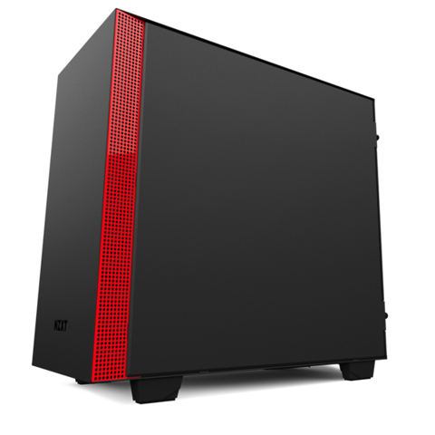 Case NZXT H400i Black-Red