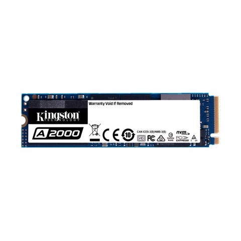 SSD KINGSTON A2000 500GB M.2 NVMe - SA2000M8/500G