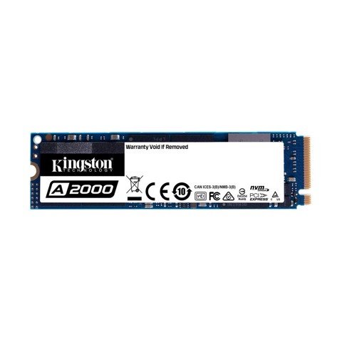 SSD KINGSTON A2000 1TB M.2 NVMe - SA2000M8/1000G