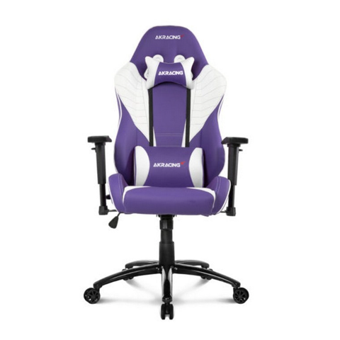 Ghế Gamer AKRacing K702HY White Purple