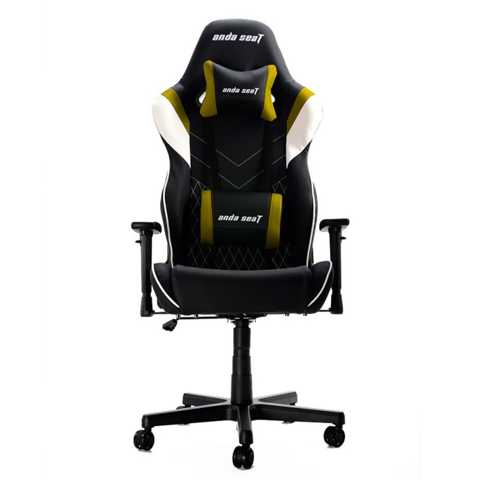 Ghế Anda Seat Assassin V2 Black/White/Yellow