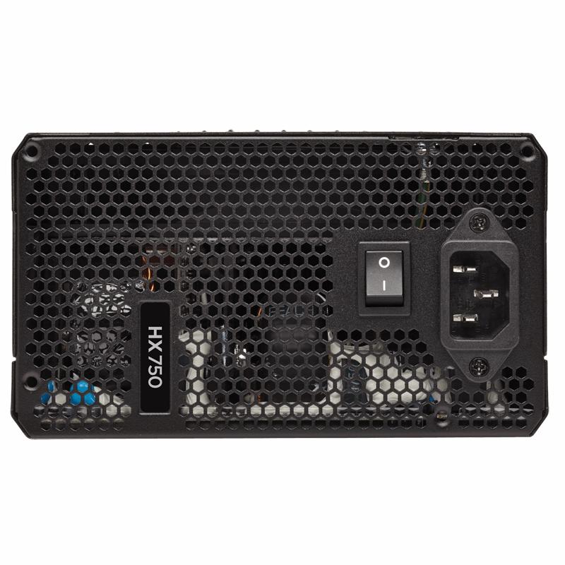 Corsiar HX750 750 Watt 80 PLUS® Platinum Fully Modular