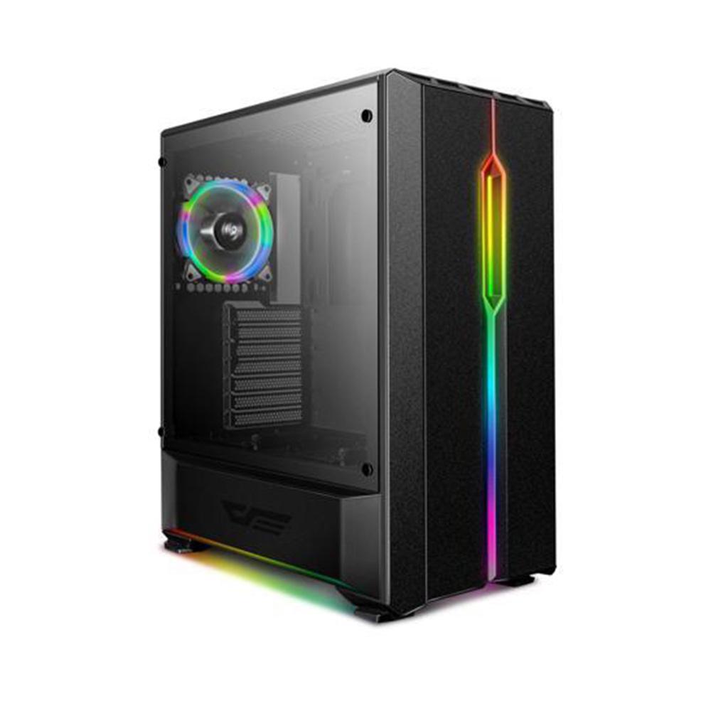 Case Dark Flash T20 Black - Tempered Glass Case