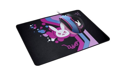 D.Va Razer Goliathus - Soft Gaming Mouse Mat - Medium - Speed