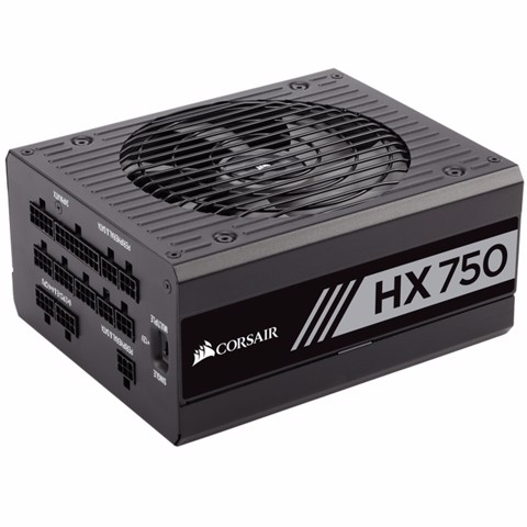 ( 750W ) Nguồn Corsiar HX750 750 Watt 80 PLUS® Platinum Fully Modular
