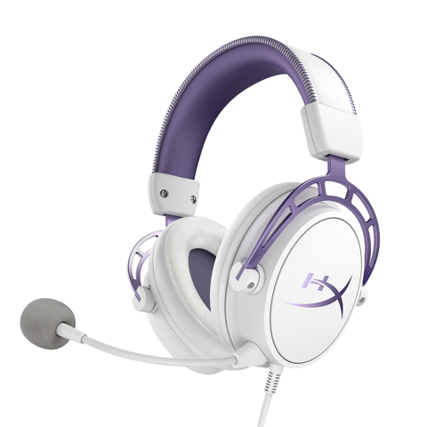 Tai nghe HyperX Cloud Alpha White Purple Edition