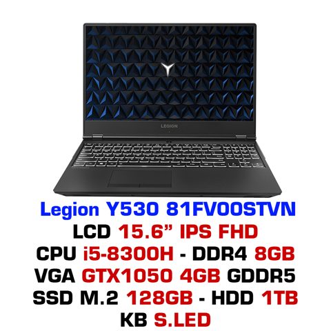 Laptop Lenovo Legion Y530 81FV00STVN