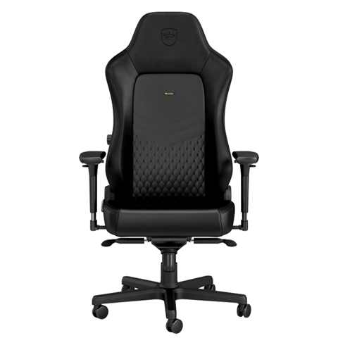 Ghế Noble Chair Hero Series Real Leather - Black
