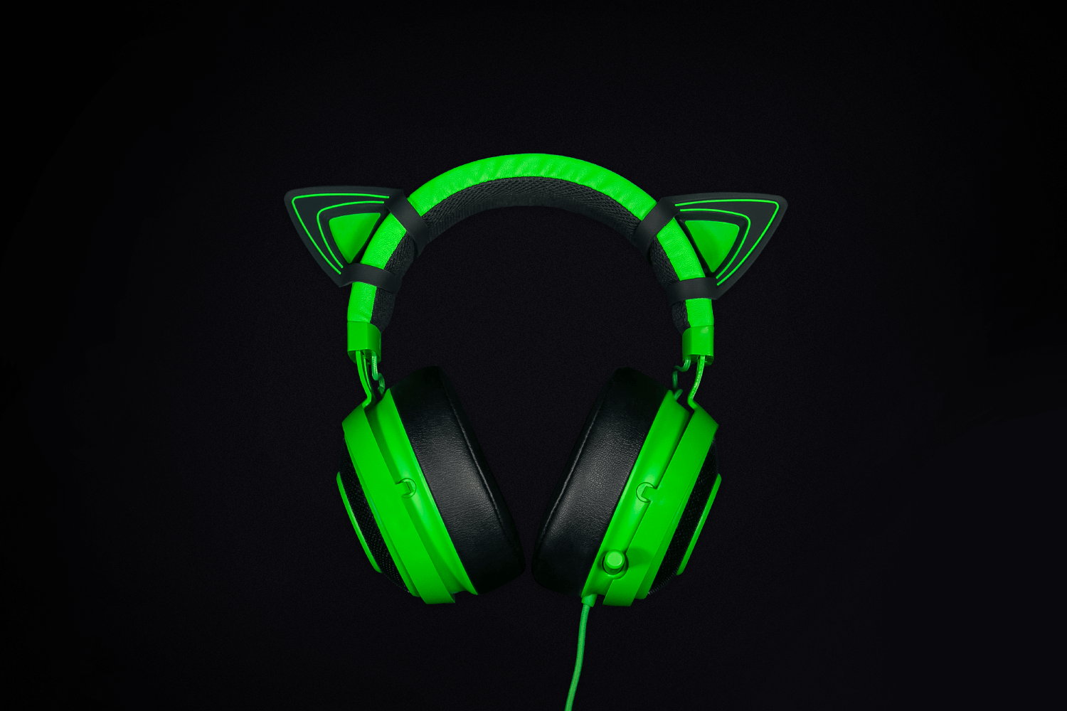 Razer Kitty Ears - Green