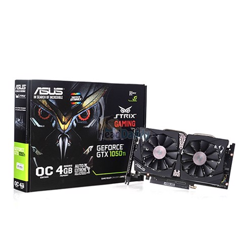 Asus Strix GeForce® GTX 1050 Ti OC 4GD5 Gaming 128bit