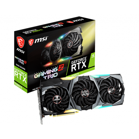 MSI RTX 2080 Ti GAMING Z TRIO 11GB