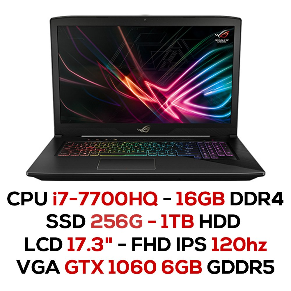 Laptop Gaming Asus ROG Strix SCAR GL703VM-EE095T