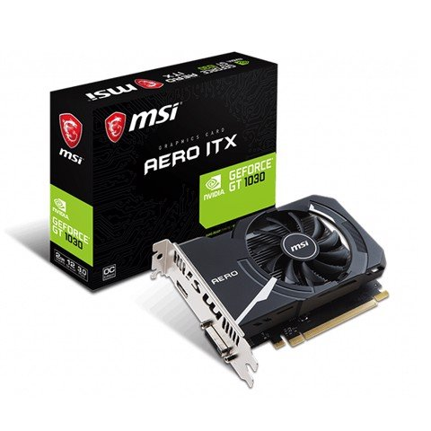 MSI GeForce® GT 1030 AERO ITX 2GB OC