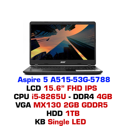 Laptop Acer Aspire A515-53G 5788