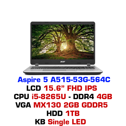 Laptop Acer Aspire A515-53G 564C