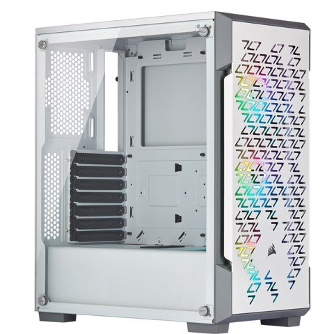 Case Corsair 220T White RGB Airflow Tempered Glass ( Mid-Tower )