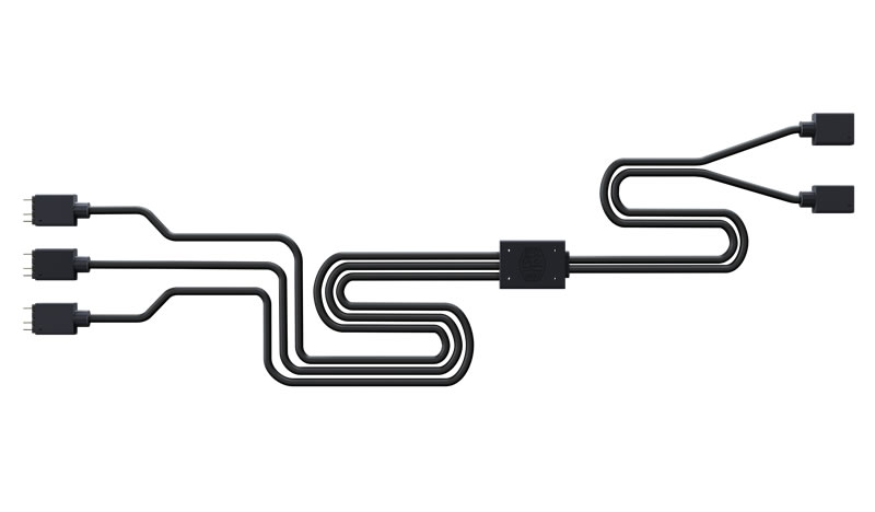 COOLERMASTER Addressable RGB 1-to-3 Splitter Cable