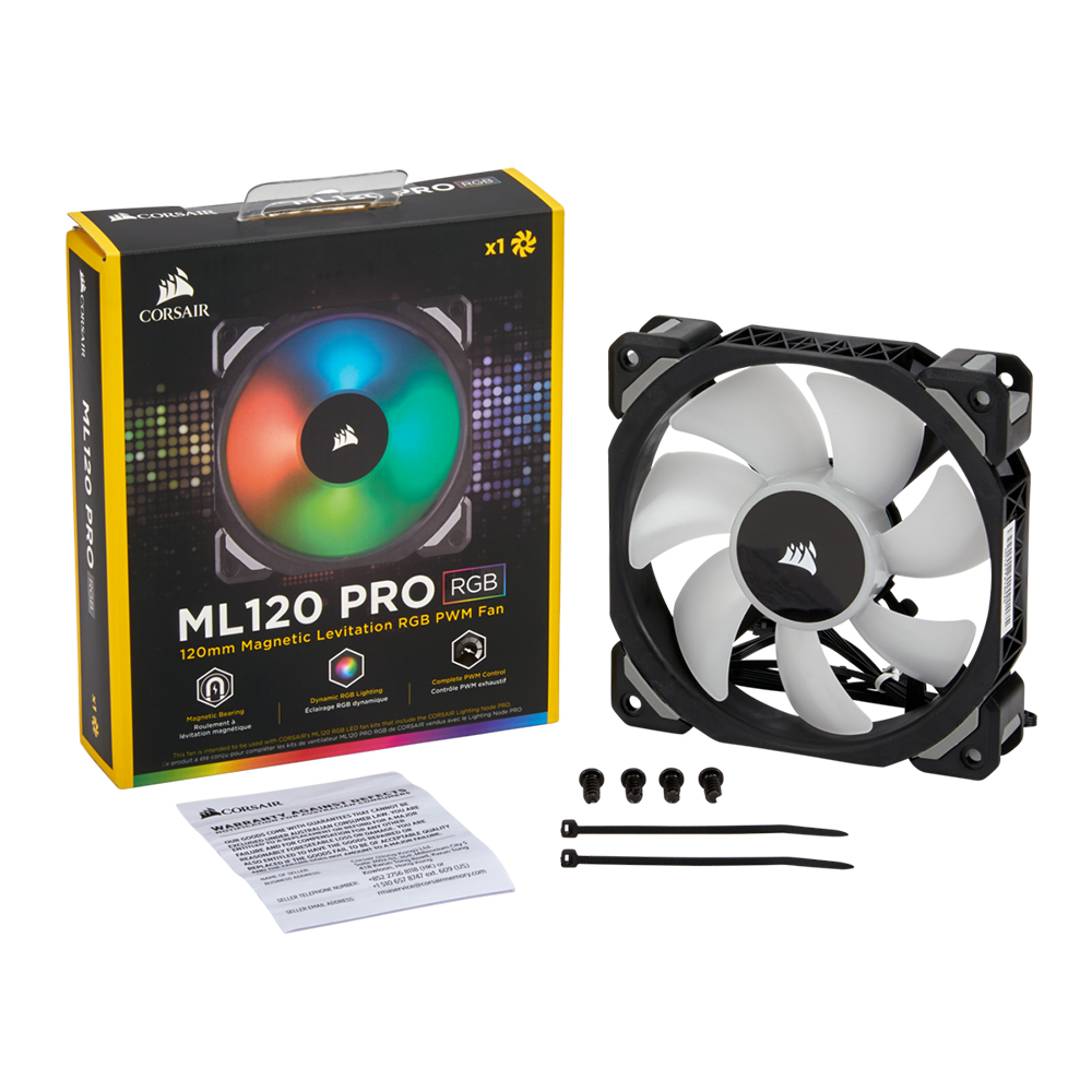 Corsair ML120 Led RGB Fan Single