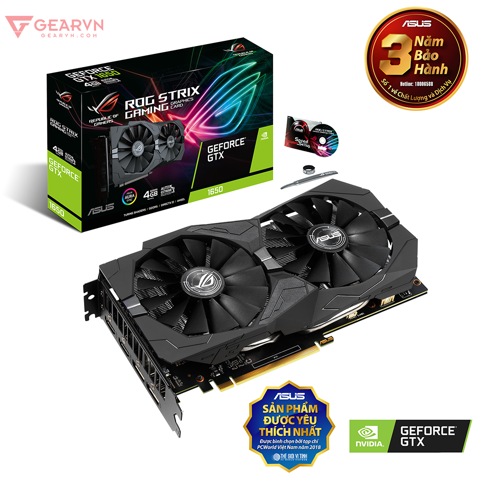 ROG Strix GeForce® GTX 1650 4GB GDDR5