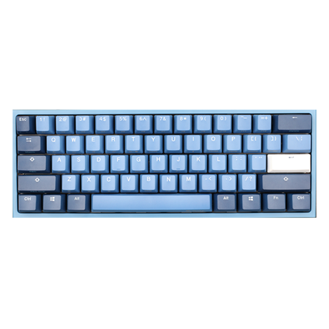 Bàn phím cơ Ducky One 2 Mini Good In Blue Edition