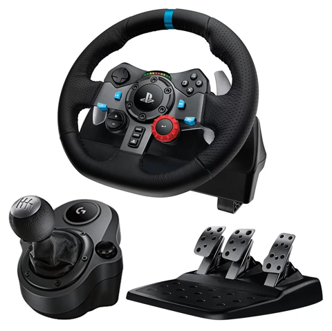 Combo Logitech G29 DRIVING FORCE và DRIVING FORCE SHIFTER