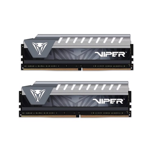 (16GB DDR4 2x8G 2666) Patriot Viper Elite Grey
