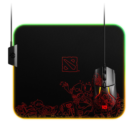 Steelseries QcK Prism Cloth - DOTA 2 TI9 Edition