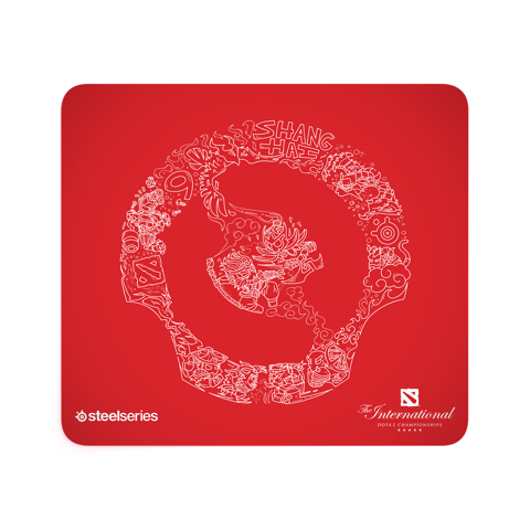 Steelseries QcK Large - DOTA 2 TI9 Edition
