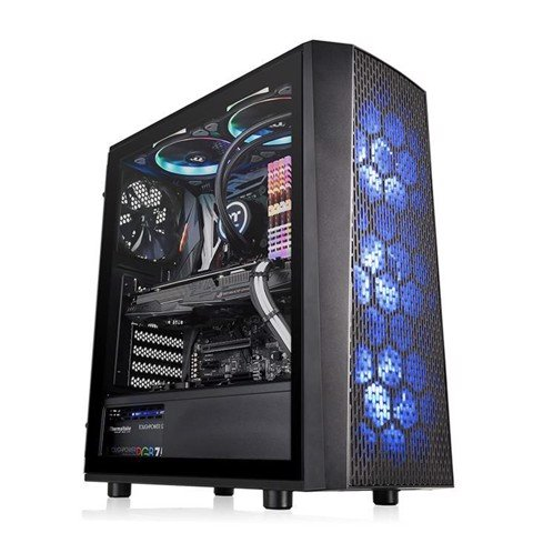 Case Thermaltake Versa J24 Tempered Glass RGB Edition