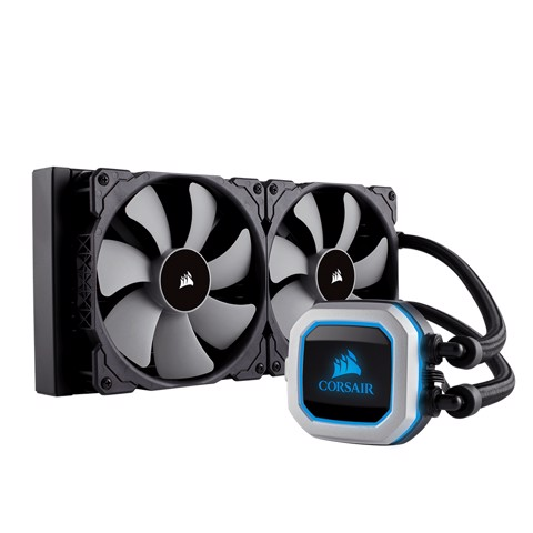 Tản nước AIO Corsair Hydro Series™ H115i PRO RGB 280mm Liquid CPU Cooler