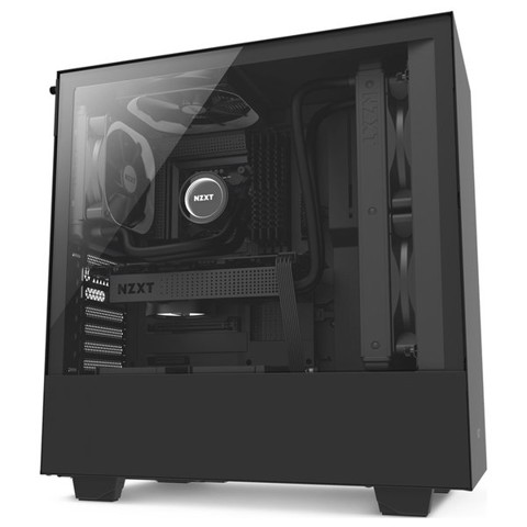Case NZXT H500 - Black (Mid - Tower)