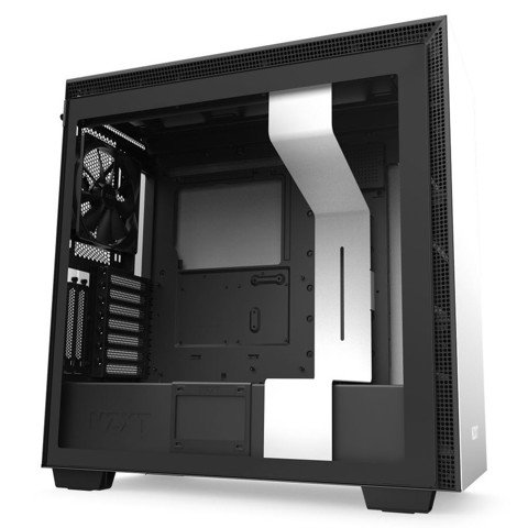Case NZXT H710i Smart ATX  (Mid - Tower) - White
