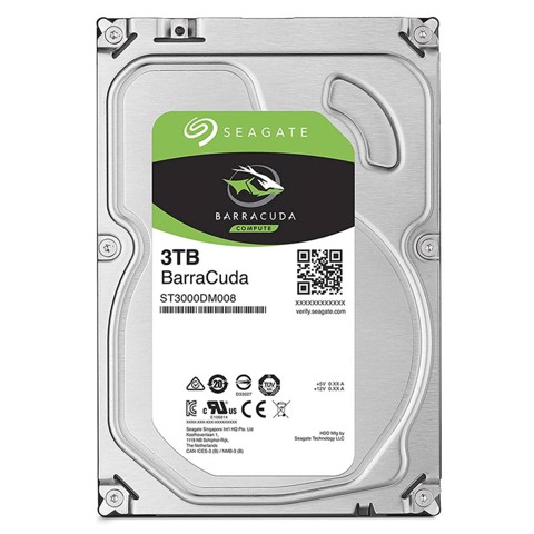 HDD Seagate Barracuda 3TB 5200rpm