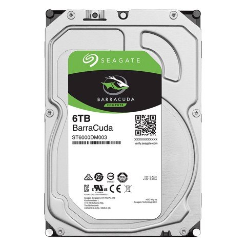 HDD Seagate Barracuda 6TB 5400rpm