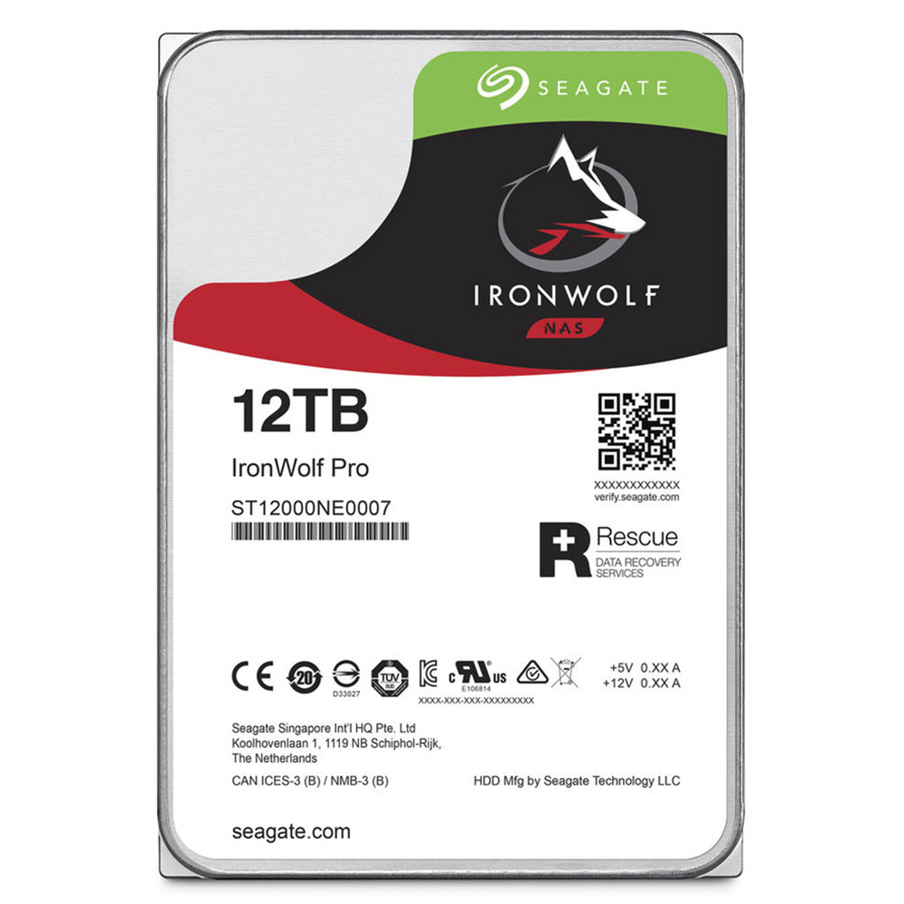 HDD Seagate Ironwolf PRO 12TB 7200rpm