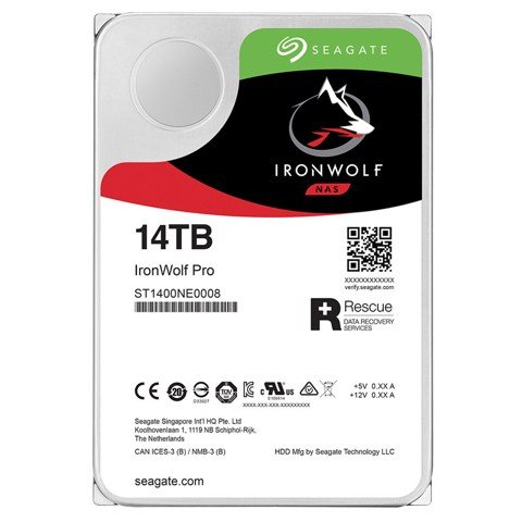 HDD Seagate Ironwolf PRO 14TB 7200rpm