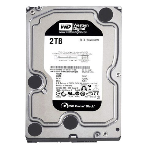 WD HDD Black 2TB 7200rpm