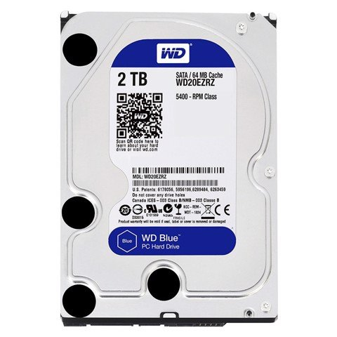 HDD WD Blue 2TB 5400rpm