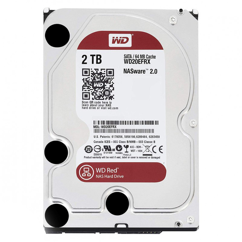 WD HDD 2TB Red 5400rpm