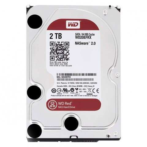 HDD WD Red 2TB 5400rpm