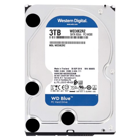 WD HDD 3TB Blue 5400rpm