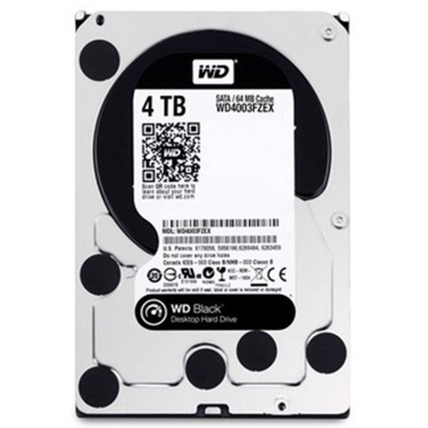 HDD WD  Black 4TB 7200rpm
