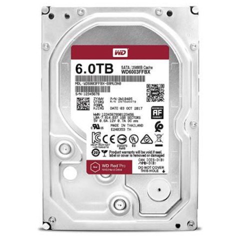 HDD WD Red 6TB 5400RPM